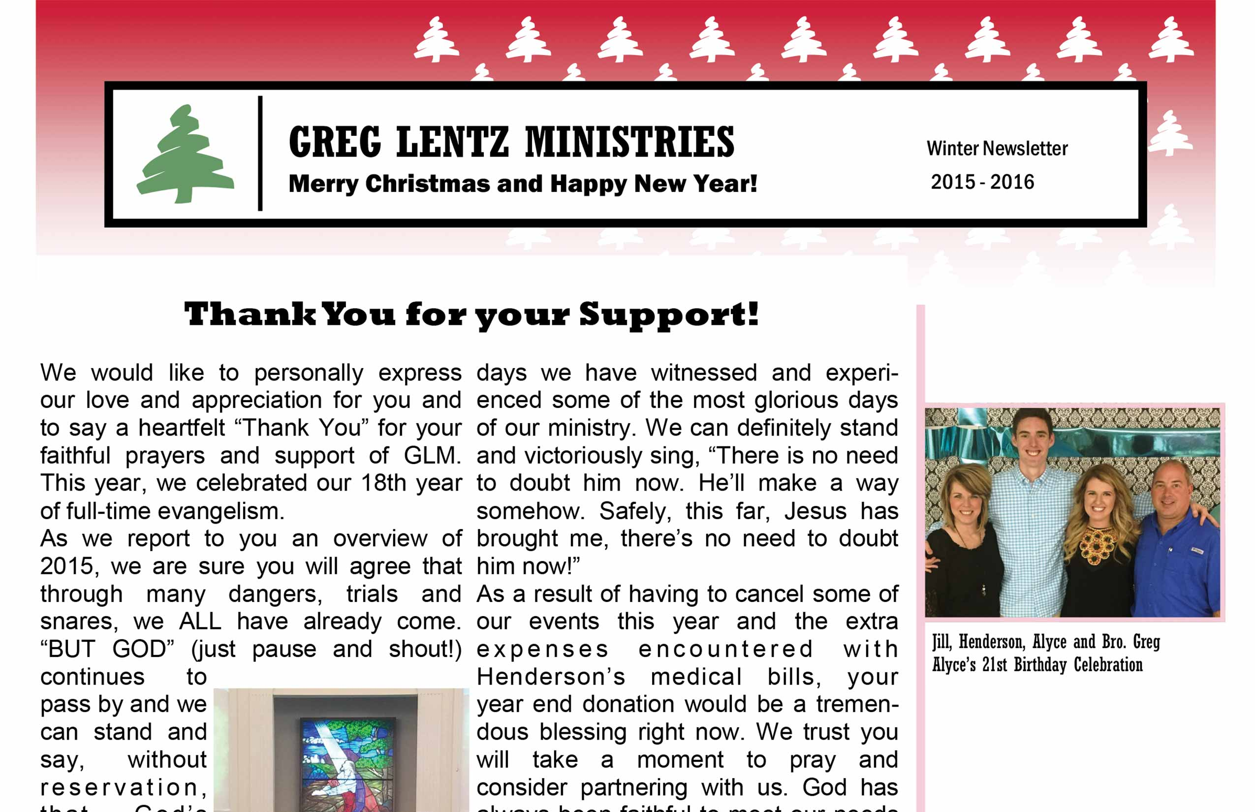 2015ChristmasNewsletterWeb