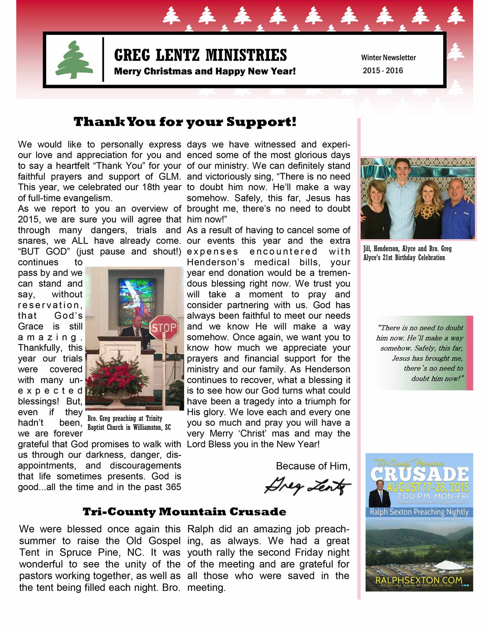 2015ChristmasNewsletter_Page1
